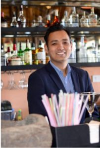 Food & Beverage Manager Satish Shrestha -Temporary Work (Skilled) Visa Grant